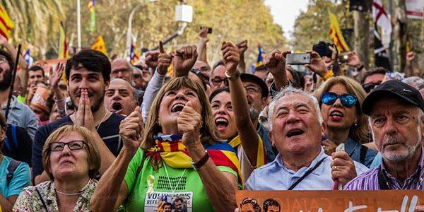 barcelona demonstratie kroketten