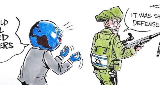 De Israëlische staat dreigt met meer doden in Gaza