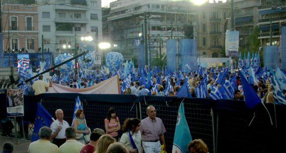 Rechts in Griekenland probeert een comeback
