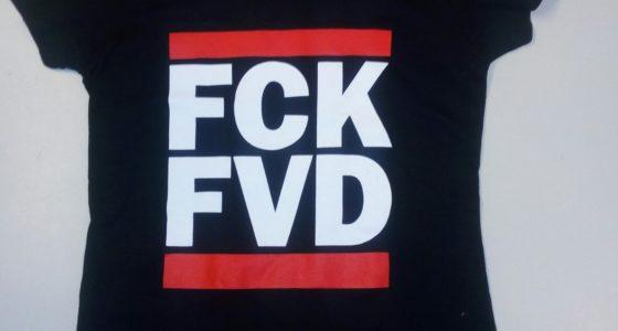 Nieuw shirt: FCK FVD