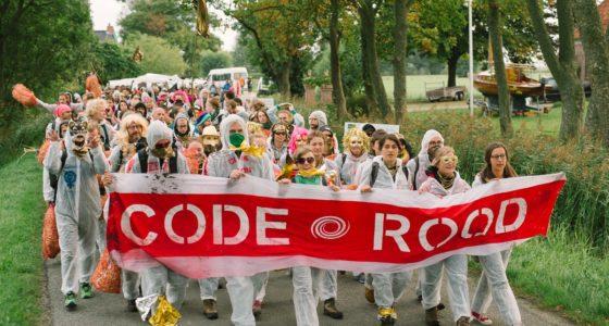 Veel lokale steun voor succesvolle blokkade Code Rood