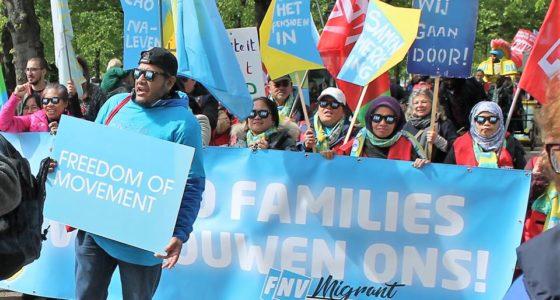 Vele duizenden op de been tijdens strijdbare 1 mei