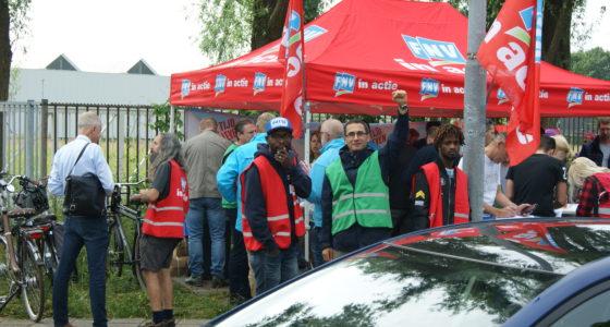 Nieuwe stakingen bij DAF Eindhoven: 'Wij leveren al tien jaar in'