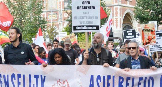 In actie voor een menselijk asielbeleid