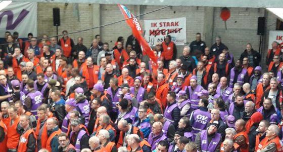 Acties in de Grootmetaal: 'FME gaat er met gestrekt been in'