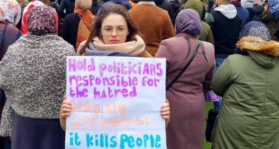 'Nu opstaan om extreem-rechts te stoppen'