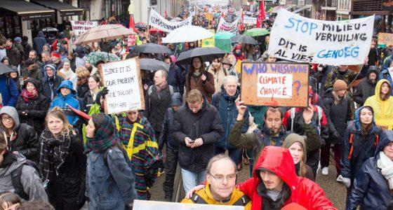Massale klimaatdemonstratie in Amsterdam is nog maar het begin