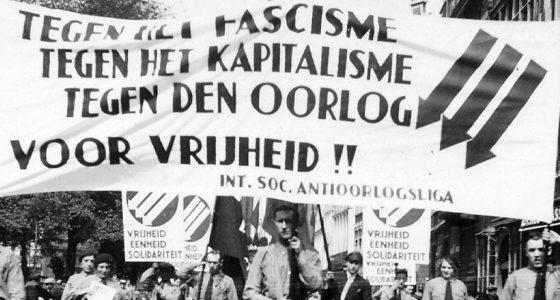Liever revolutie dan oorlog!