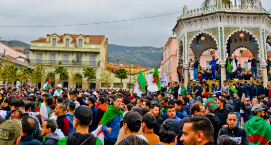 Protesten in Algerije: 'Een date met de geschiedenis'