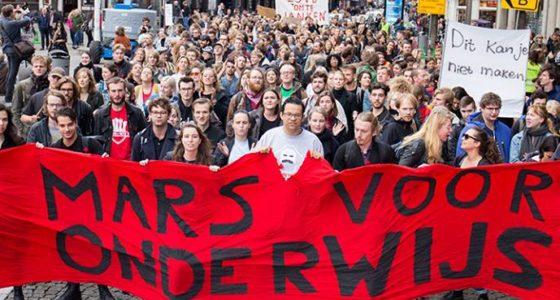 Verzet hoger onderwijs tegen Rutte III vraagt om een brede beweging