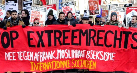 No Pasarán! Vecht terug tegen racisme en extreem-rechts