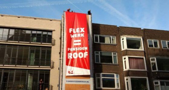 Landelijke pensioenactie in Utrecht
