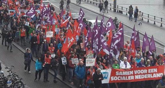 8000 vakbondsleden #NaardeDam, maar hoe verder?
