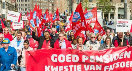 Maak van pensioenstrijd een brede beweging tegen Rutte III