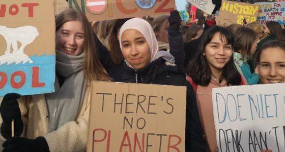 Klimaatstaking: 'Met of zonder toestemming, dit moet door!'