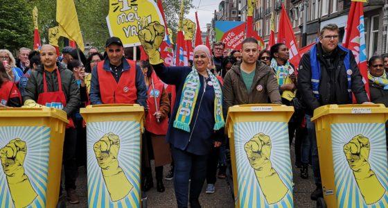 1 mei demonstratie brengt duizenden op de been