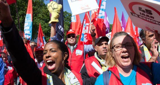 Principeakkoord pensioenen: vakbondsleden aan het woord