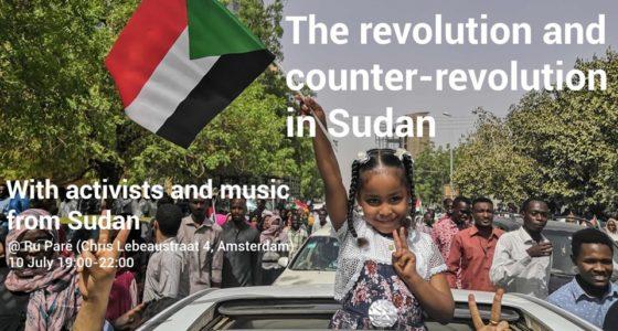 Bijeenkomst: revolutie en contrarevolutie in Soedan
