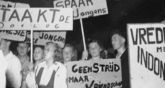 September 1946: massastakingen tegen de koloniale oorlog in Indonesië