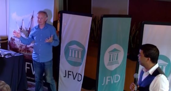 JFVD-congres: nazipropaganda en racisme