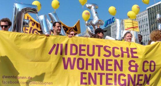 Berlijn: in actie voor de onteigening van huisjesmelkers