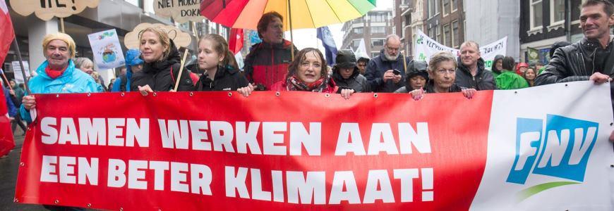 Vakbonden scharen zich achter klimaatstaking – wanneer volgt de FNV?