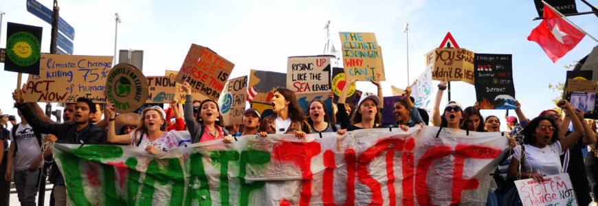 Begin klimaatactieweek: 2000 mensen de straat op in Maastricht
