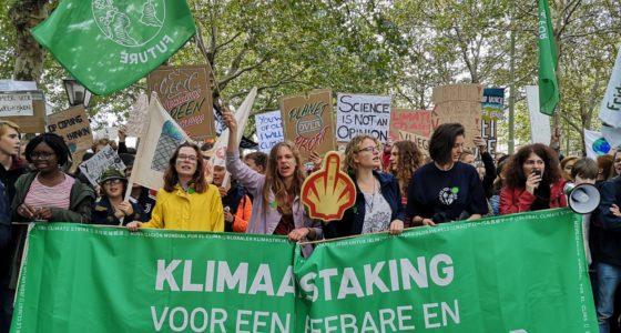 Ruim 35.000 mensen op de been in prettig chaotische klimaatmars