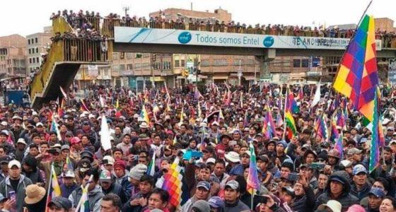Bolivia: rechtse coup stuit op massaal verzet