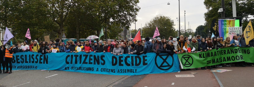 Extinction Rebellion en de strategie van de klimaatbeweging
