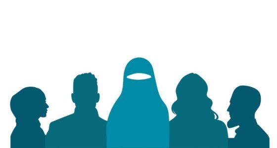 Hand in hand tegen het niqab verbod