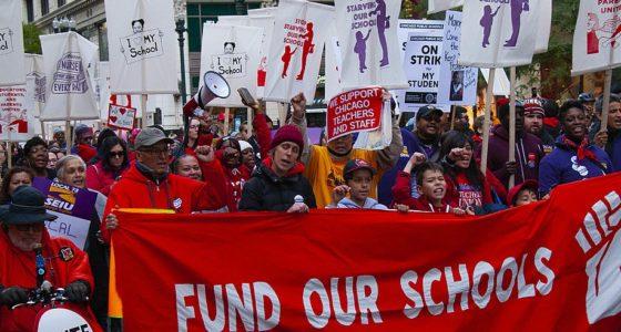 De lessen van de docentenstaking in Chicago: </br>Vijf manieren om een sterke, democratische vakbond op te bouwen