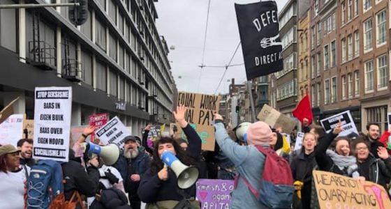 Naar een Women's March voor de 99 procent