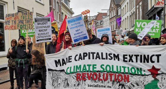 Utrechtse Klimaatcoalitie brengt honderden op de been bij eerste demonstratie
