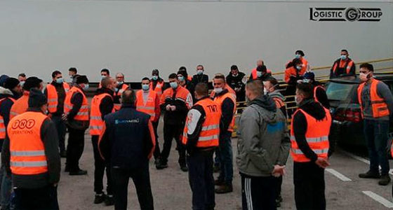 Italiaanse arbeiders staken om coronavirus