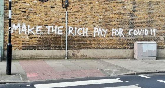 Waarom de rijken de crisis moeten betalen