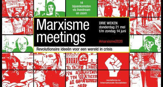 Marxisme Meetings - alle bijeenkomsten op een rij