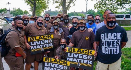 Black lives matter staking raakt 160 steden in de VS
