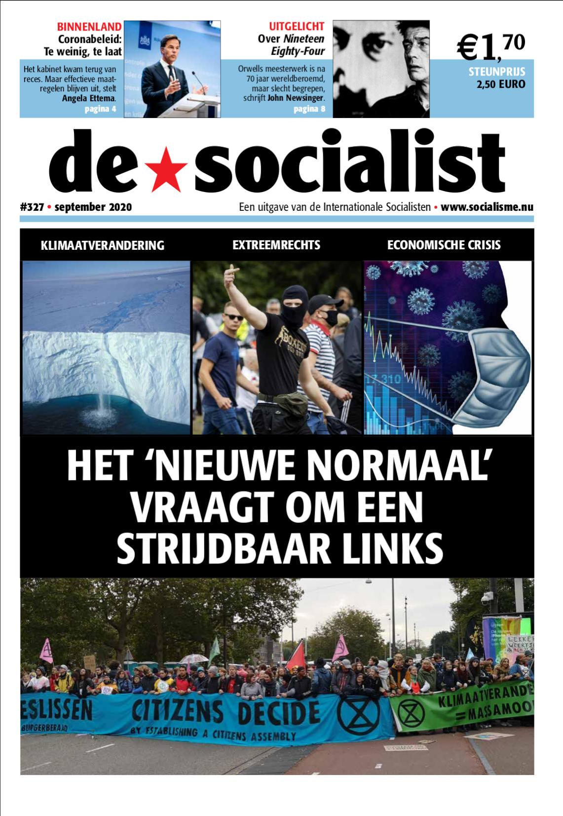 #327 - Het 'nieuwe normaal' vraagt om een strijdbaar links