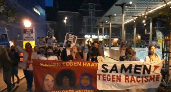 Succesvolle actie tegen FvD in Maastricht