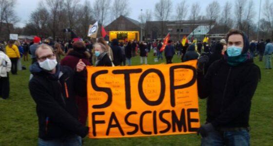 Amsterdams protest toont groeiend besef van de noodzaak van antifascisme